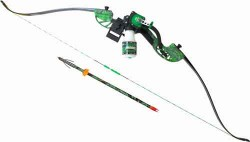 AMS Bowfishing Water Moc Recurve Bow Package