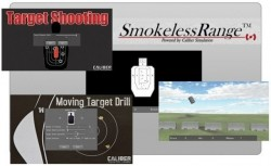 Laser Ammo Smokeless Range Judgmental and Marksmanship Shooting Simulator SR001