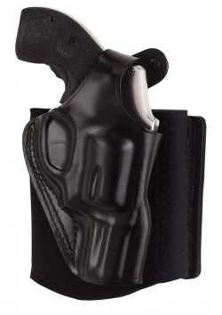 Galco Ankle Glove Ankle Holster - AG800B, Black, For Glock - 43, Right, Handed