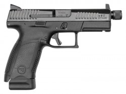 CZ P-10 Compact Suppressor Ready Black 9mm 4.61-inch 17Rds