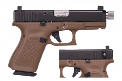 HUSH PUPPY G19 G5 9MM FDE SLD