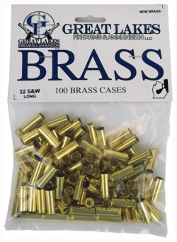 Great Lakes Brass .32 S&w Long