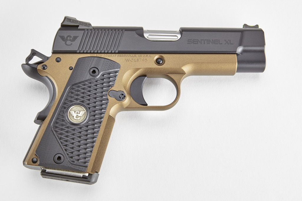 Wilson Combat Sentinel XL, .45 ACP, Black/Burnt Bronze