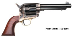 Taylors and Co Uberti The Rand Hand Blued / Brass / Walnut .45 LC 4.75-inch 6Rd