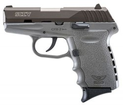 SCCY CPX-2 Black / Gray 9mm 3.1-inch 10rd without Safety
