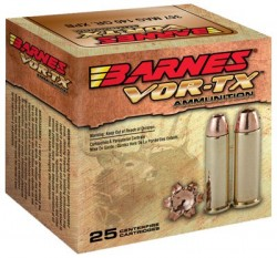 Barnes VOR-TX Handgun Ammunition - Copper