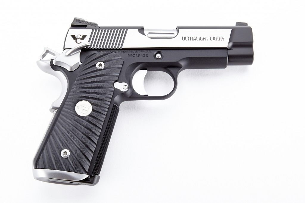 Wilson Combat Ultralight Carry, Professional, .45 ACP, Reverse Two Tone, Stainless/Black