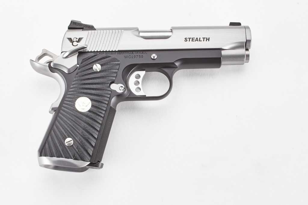 Wilson Combat Stealth, Compact, 9mm, Reverse Two-Tone, Stainless/Black