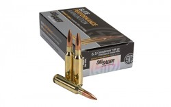 Sig Sauer Elite Performance 6.5 Creedmoor Ammunition 20 Rounds 140 Grain Open Tip Match 2625fps E65CM1-20