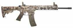 Smith and Wesson M&P 15-22 Kryptek Highlander Camo .22 LR 16-inch 25Rd