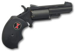 North American Arms BLACK WIDOW 22LR/22MAG BLACK PVD