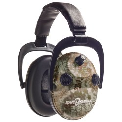 Do All Outdoors Sound Soldier Quad Muff with Aft Kryptek Highlander ESQM-KHL