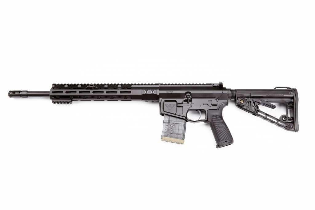 "Wilson Combat Recon Tactical Rifle, 300 HAM'R, 16"" Barrel, 1-15 Twist, Black"