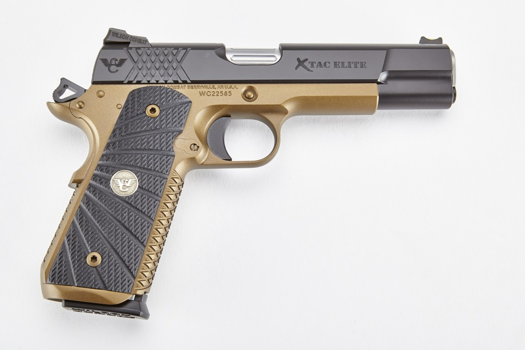 Wilson Combat X-TAC Elite, Full-Size, .45 ACP, Black/Burnt Bronze
