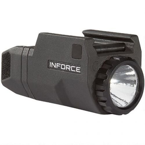 Inforce APL Compact For Glock Tactical Weapon Light LED with 1 CR2 Battery Fiber Composite Black