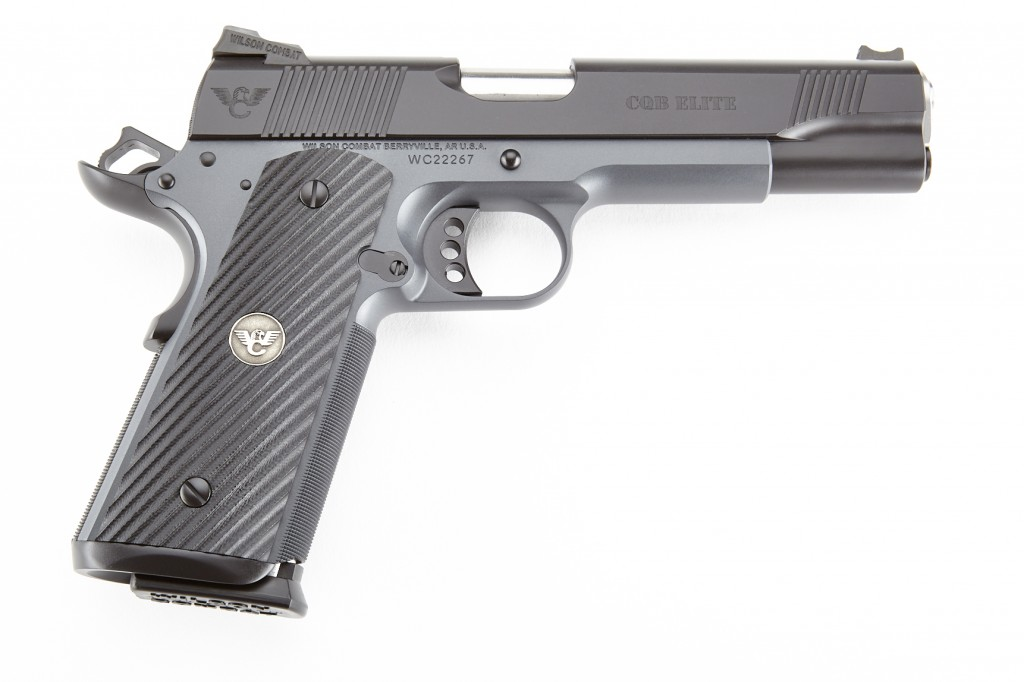 Wilson Combat CQB Elite, Full-Size, .45 ACP, Black/Gray