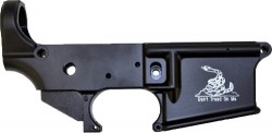 Anderson Lower Ar-15 Stripped Receiver 5.56 Nato Dont Tread On Me
