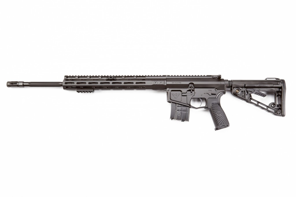 "Wilson Combat Recon Tactical Rifle, 224 Valkyrie, 20"" Barrel, 1-6.5 Twist, Fluted, Black"