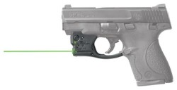 Viridian Reactor 5 Green Laser Sight for Smith & Wesson M&P Shield 45acp featuring ECR, w/ Hybrid Belt Holster, Black, R5-Shield45