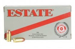 Estate ESH40180 Range 40 Smith & Wesson Full Metal Jacket 180GR 50Box/20Case