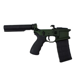 Franklin Armory 2032-ODG Liberta Billet Lower Receiver with BFSIII Olive Drab Green