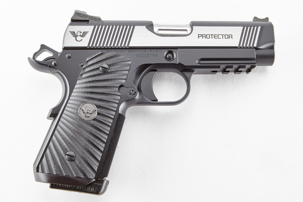 Wilson Combat Protector II, Compact, Lightweight Upgrade, .45 ACP, Reverse Two-Tone, Stainless/Black