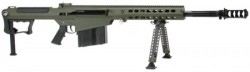 Barrett M107A1 Semi Auto Rifle OD GREEN 50BMG 20 inch 10 rd