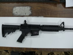 USED S&W M&P 15 556 WITH SLING