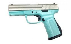 FMK Firearms 9C1 G2 Stainless / Blue Jay 9mm 4-inch 14Rds
