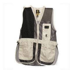 Browning Trapper Creek Vest Sand/Black