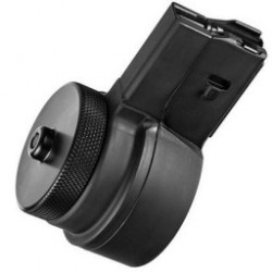 X-Products X-15 M16/AR-15, .223 Remington/5.65 NATO Drum Magazine, 50 Rounds