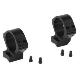Barrett 16754 Fieldcraft Ring Kit 30mm Diam Medium Black