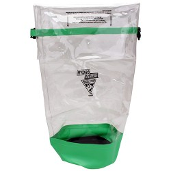 Seattle Sports Glacier Clear Dry Bag, Clear/Lime