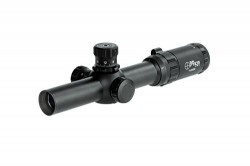 Sun Optics 1-6x24 Tactical 30mm CQB/3-Gun Match Rifle Scope w/ Dot IR Red/Green Reticle CS401624IR