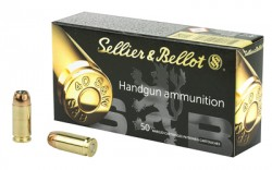 40 S&W - 180 Grain JHP - Sellier & Bellot - 50 Rounds