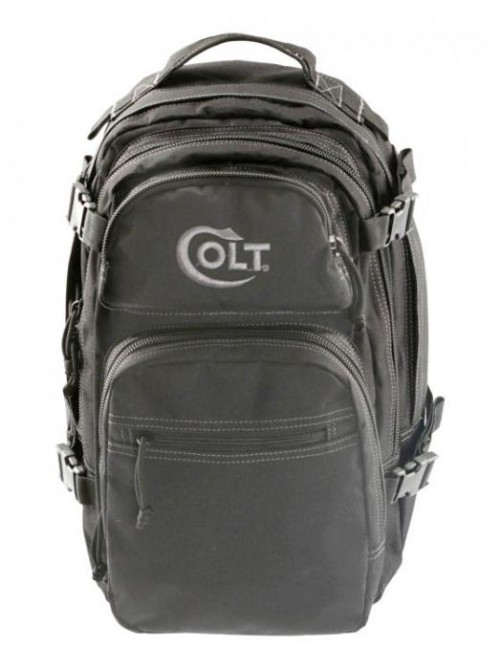 Drago Gear Colt Patrol Backpack, 600D Polyester, 16 x 10 x 10in, Black, C14305BL