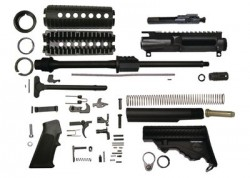 DPMS Oracle AR-15 Rifle Kit 5.56mm 16in Black No Lower Receiver KTOC