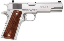 Remington 1911 R1 Stainless .45ACP 5-inch 7rd Walnut Grips