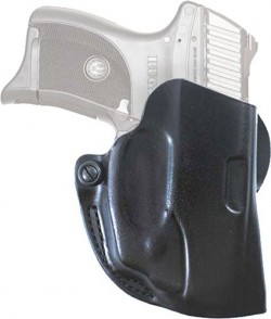 Viridian Green Lasers Mini Scabbard Waistband Holster, Black, Right Handed, Ruger LC9/380