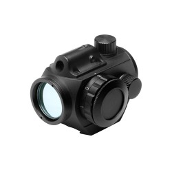 Vism Micro Green Dot Sight w/Integrated Red Laser - Weaver Mounted VDGRLB