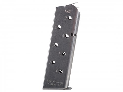 Chip McCormick 8rd Magazine .45ACP Silver SS