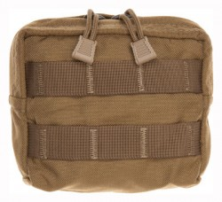 Tac Shield COYOTE ZIPPERED UTILITY MO