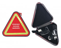 G. Outdoors Products Deceit and Discreet Handgun Case, Red, Roadway Hazard Markers GPS-D1414PCR