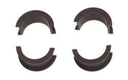 Desert Tech Scope Ring Inserts Black 30mm