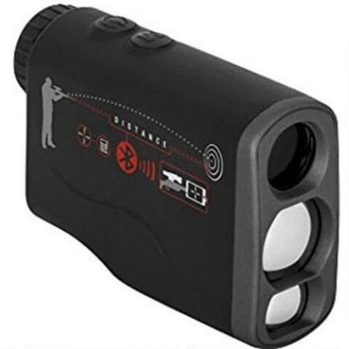 ATN Laser Ballistics 1000 Rangefinder w/ Bluetooth, Ballistic Calculator and Shooting Solutions App, Black, LBLRF1000B