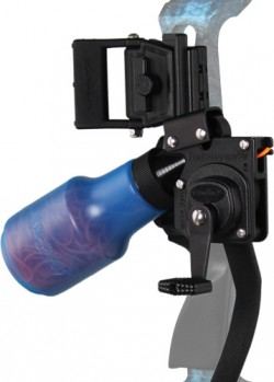 AMS Bowfishing Retriever Pro Reel - Blue (LEFT HAND)