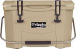 Grizzly Coolers GRIZZLY COOLERS GRIZZLY G20 TAN/TAN 20 QUART COOLER