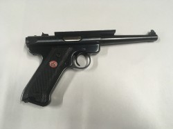 USED RUGER MKIII 22LR W/CASE & 2MAGS