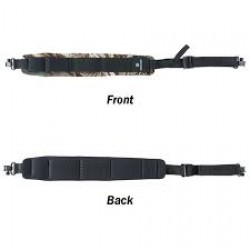 Vanguard Neoprene Sling with Elastic/Nylon Cartridge Holders, Brown Camo, Metal Hardware