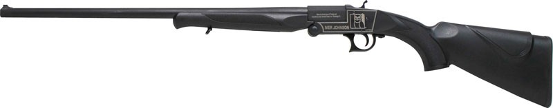 "Iver Johnson IJ700 Youth Single Shot Break Action Shotgun .410 Bore 24"" Barrel 1 Round 3"" Chambers Synthetic Stock Black Finish"